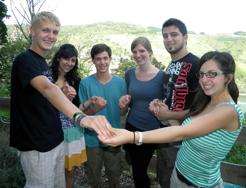 2012 Begegnung jugendlicher aus Israel und Palästina im Hunsrück
