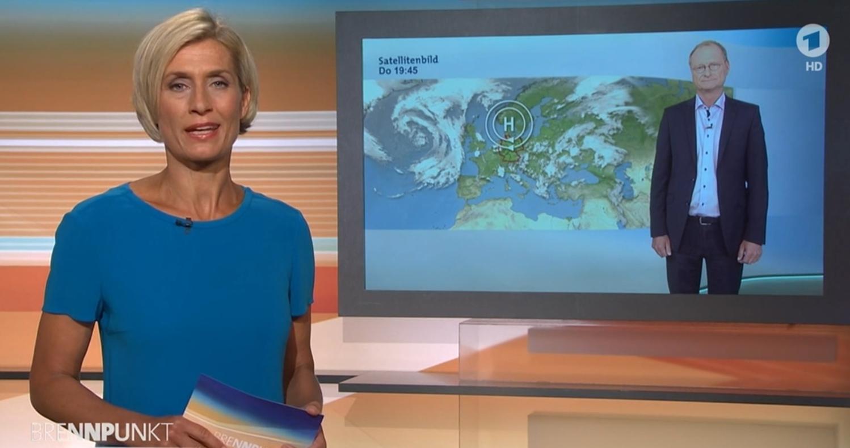 ARD Brennpunkt Klimawandel Sven Plöger und Prof. Lesch