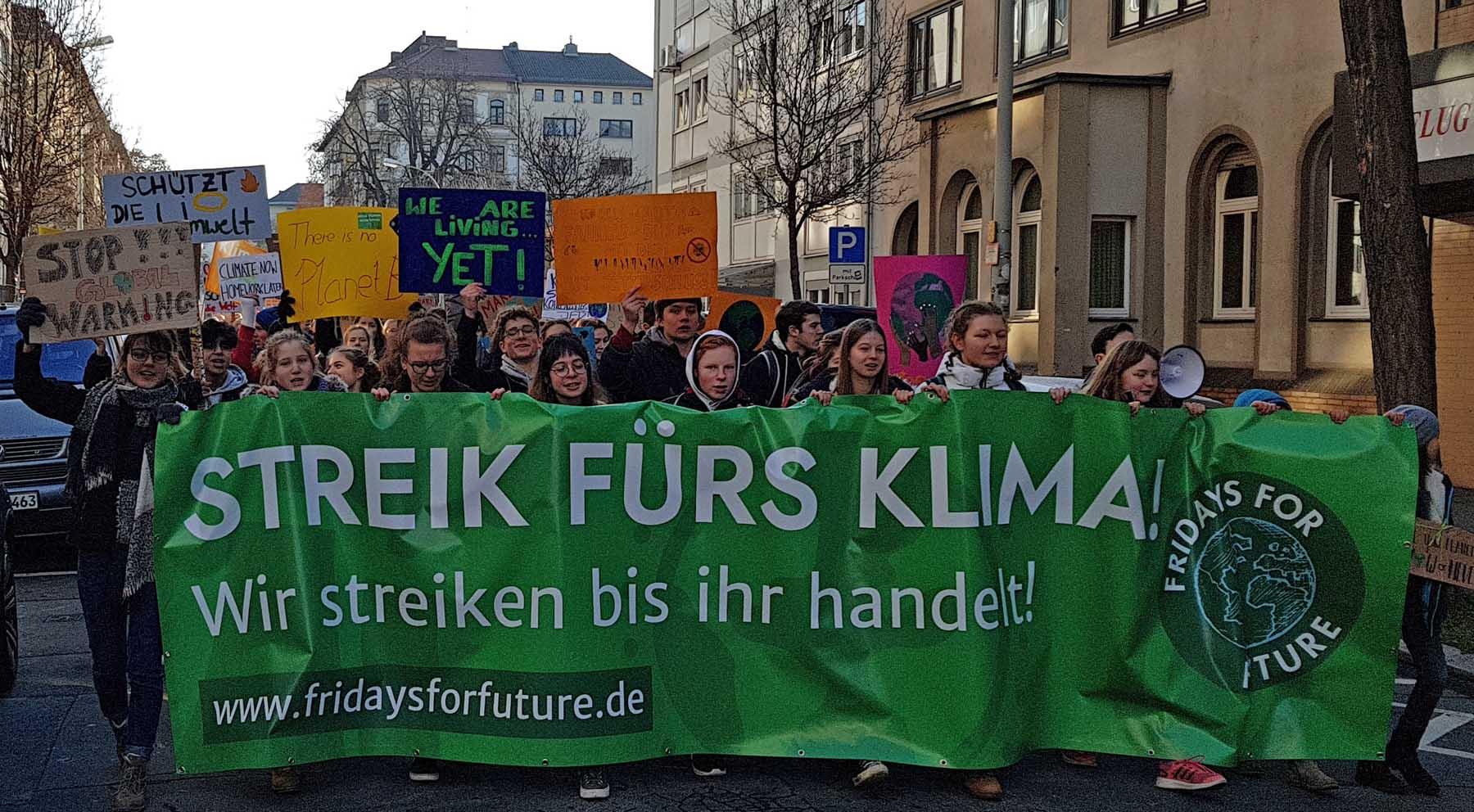 #FridayForFuture in Mainz und überall