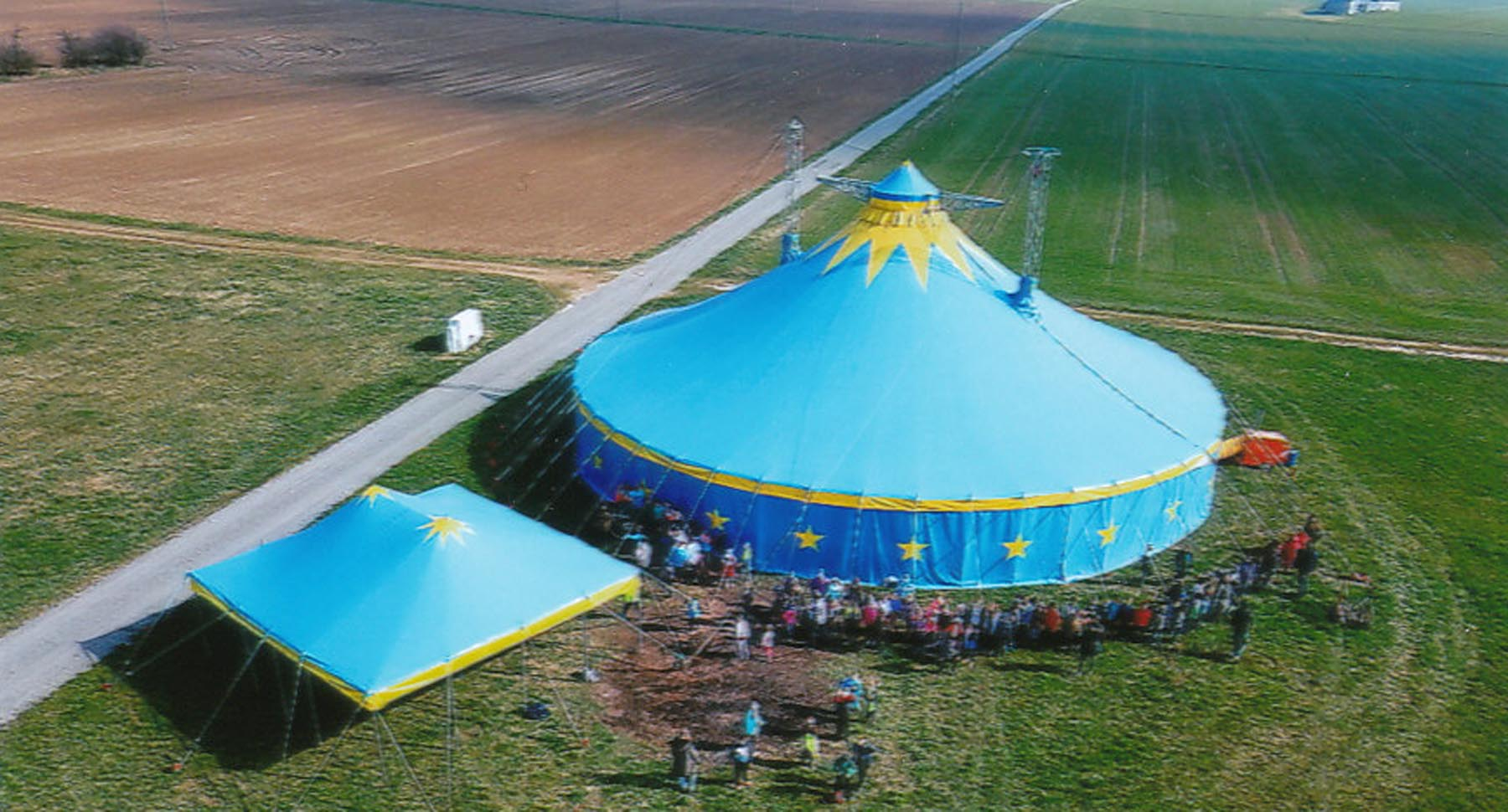 Schul-Zirkusprojekt im Hunsrück