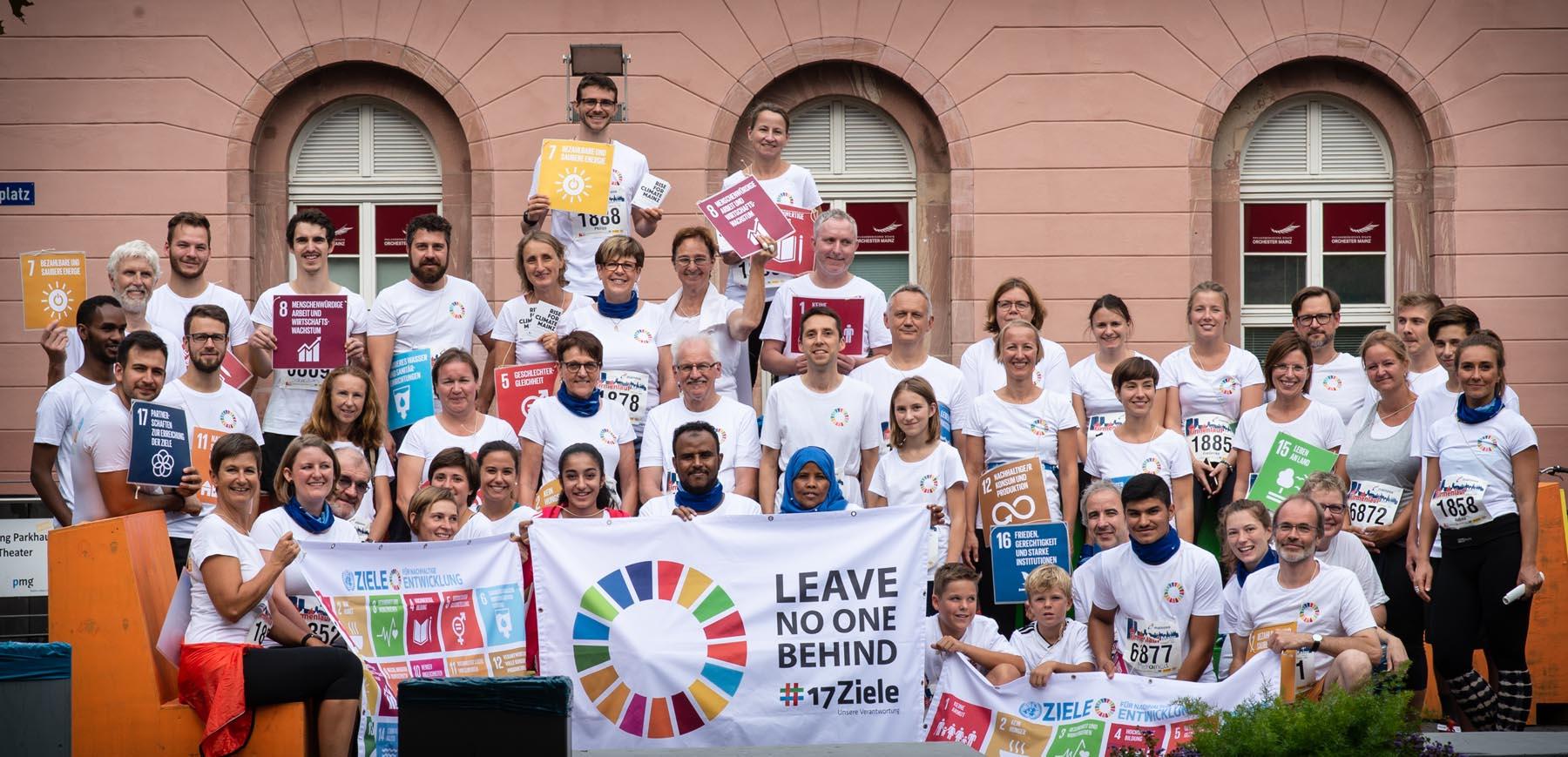 22. August in Mainz:  Laufen für die Nachhaltigkeitsziele der Weltgemeinschaft